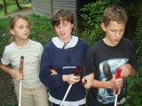 Ráchel, Petra a Markus před noční hrou