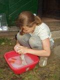 Sebeobsluha - Ráchel pere prádlo