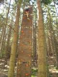 Lanové centrum - horolezecká stěna
